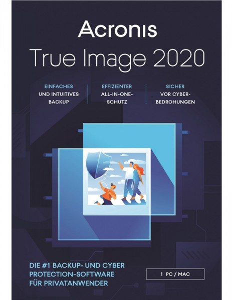 Acronis True Image 2020, 1 Gerät, Dauerlizenz, ESD, Lizenz, Download