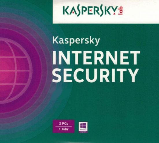 Kaspersky Internet Security, Upgrade, 3 Geräte PC/Mac/Android, 1 Jahr, 2017, ESD