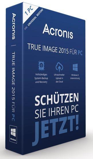 Acronis True Image 2015 -inkl. Universal Restore