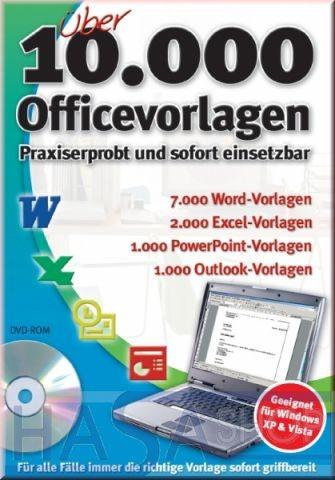 Über 10.000 Office-Vorlagen