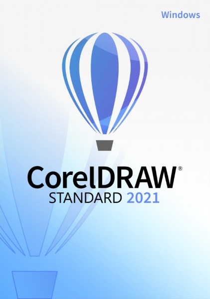 Corel DRAW Standard 2021, Windows10 (64 Bit), Download