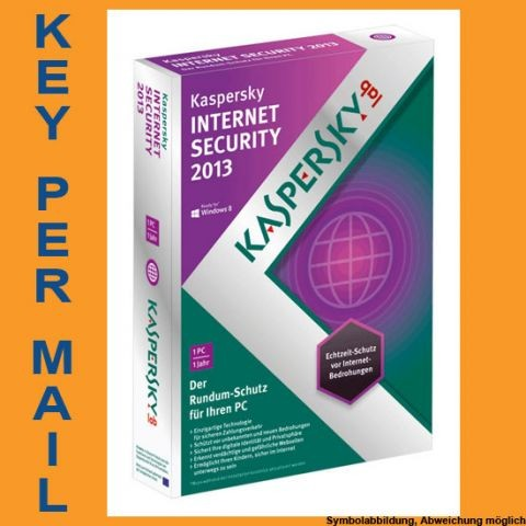 Kaspersky Internet Security, 1 Gerät, 1 Jahr, KEY