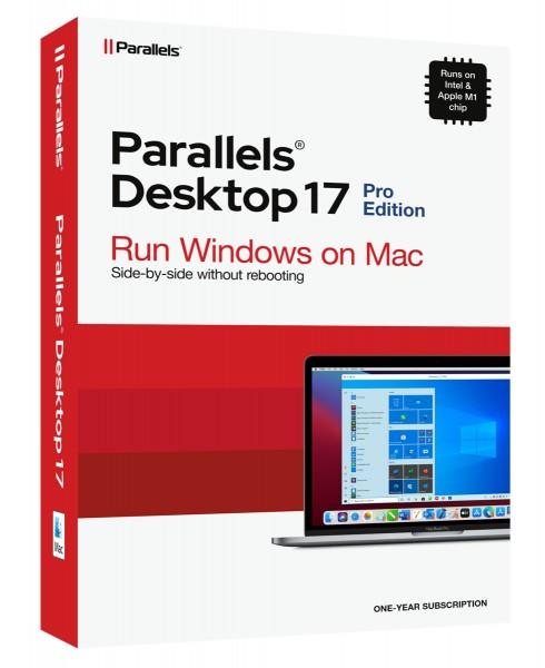 Parallels Desktop 17 PRO für MAC 1-Jahr #BOX
