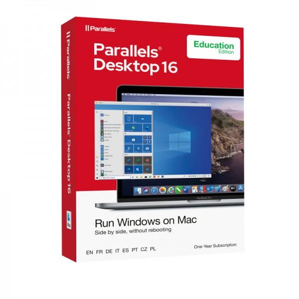 EDUCATION Parallels Desktop 16 Standard für MAC 1-Jahr Schulversion/Academic BOX