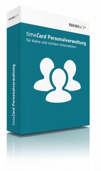 REINER SCT timeCard 6 Personalverwaltung Basis Softwarelizenz 25 Benutzer,Lizenz