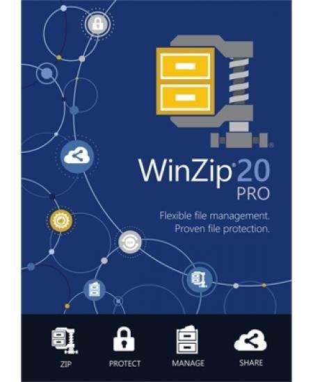 WinZip 21 Pro, ESD Lizenz Download Win Deutsch