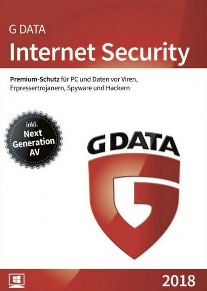 G DATA Internet Security, 1 User, 1 Jahr, Download. ESD