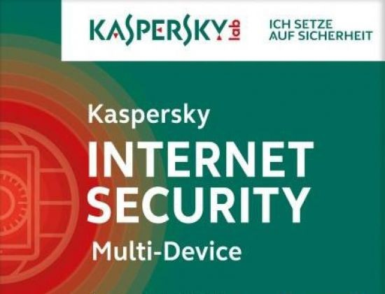 Kaspersky Internet Security, Multi Device, 3 Geräte, PC Mac Android, 1 J., 2016