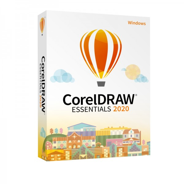 COREL CorelDRAW Essentials 2020, Windows 10, Deutsch, Box