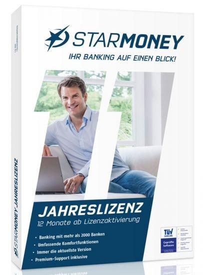 StarMoney Basic Jahreslizenz inkl. Premiumsupport, DVD-Box