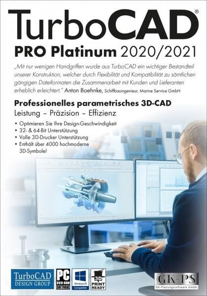 TurboCAD Pro Platinum 2020/2021, ESD Lizenz Download KEY