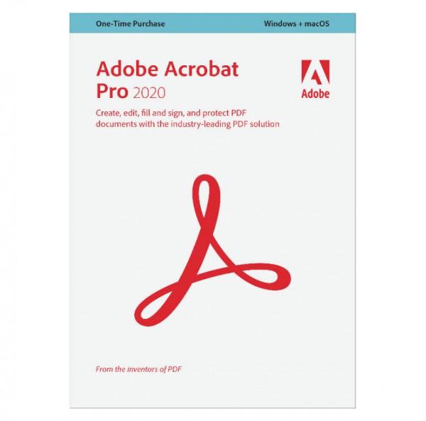Adobe Acrobat PRO 2020 Win/Mac Upgrade, Dauer-Lizenz, inkl. Zweitnutzung, ESD Lizenz Download #KEY