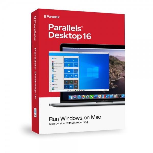 Parallels Desktop 16 Standard für MAC Dauerlizenz BOX