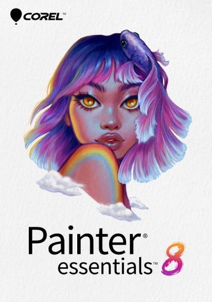 COREL Painter Essentials 8 Deutsch, Download (Windows10 64 Bit / Mac)