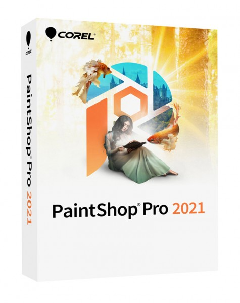 Corel PaintShop Pro 2021 Windows, Deutsch/Multi, #BOX