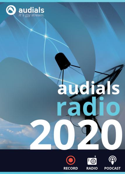 Audials Radio 2020 #PKC (Karte mit Key und Download-Link)