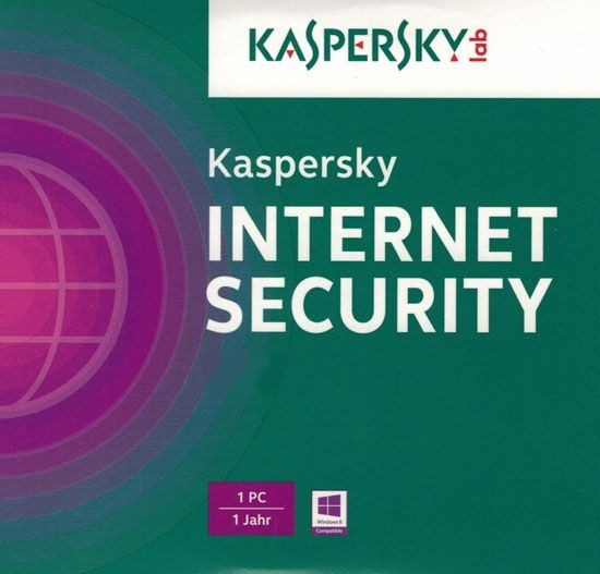 Kaspersky Internet Security, Upgrade, 1 Gerät PC/Mac/Android, 1 Jahr, 2017, ESD
