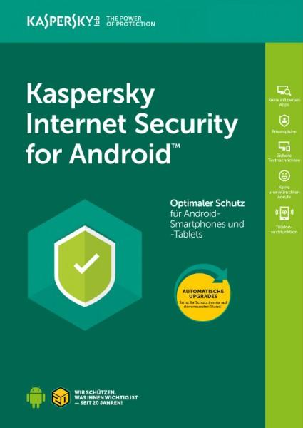Kaspersky Internet Security für Android, 1 Gerät, 1 Jahr, Verlängerung, Download
