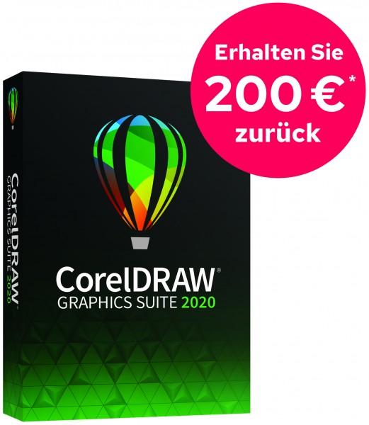 CorelDRAW Graphics Suite 2020 Vollversion Windows Deutsch DVD *200 EUR Cashback*