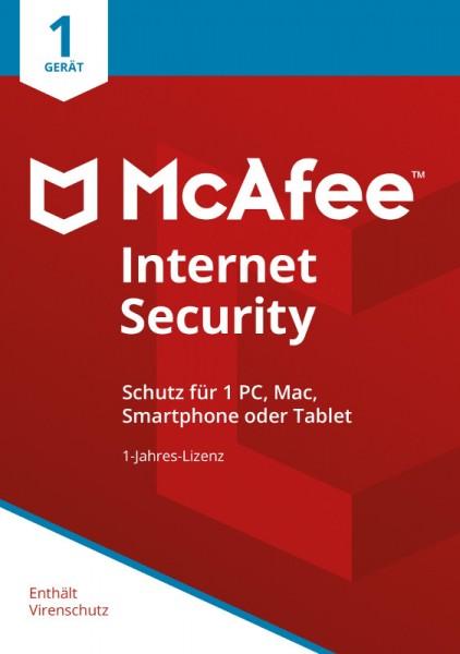 McAfee Internet Security (2018) 1 Gerät 1 Jahr ESD