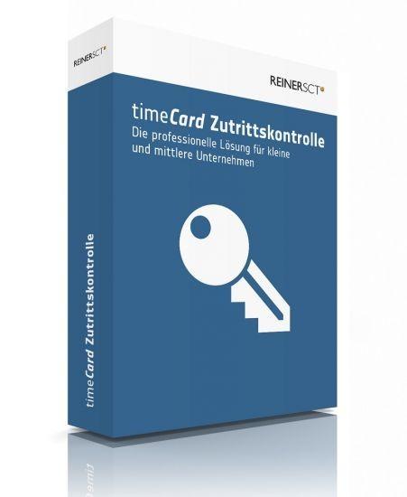 REINER SCT timeCard 6 Zutrittskontrolle Basis 5 Mitarbeiter, Lizenz