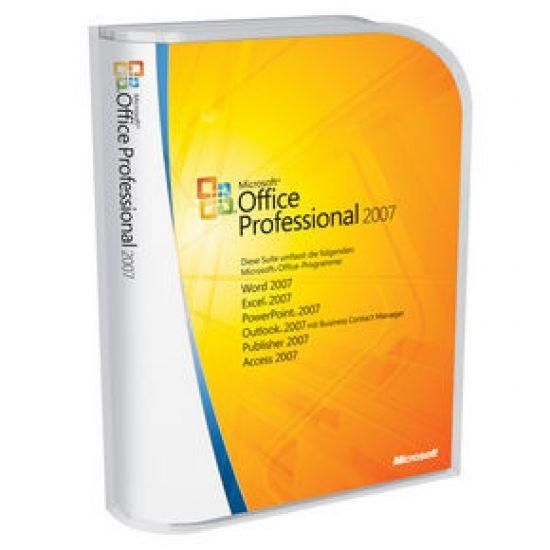 Microsoft Office 2007 Professional OEM (inkl. DVD)