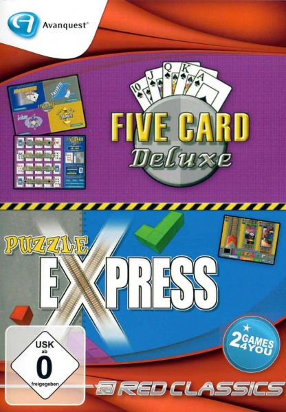 Red Classics - 5 Card Deluxe & Puzzle Express (PC)