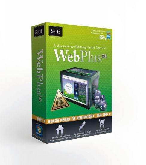 Serif WebPlus X4, Platinum Edition, BOX