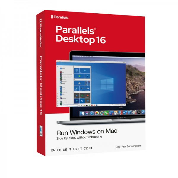 Parallels Desktop 16 Standard für MAC 1-Jahr BOX