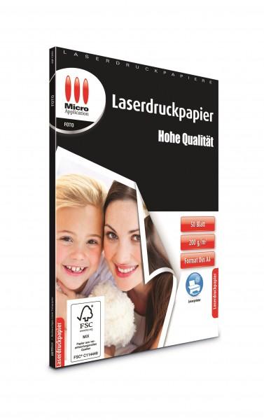 AvanQuest A4 Foto Papier - Hohe Qualität für Laserdrucker