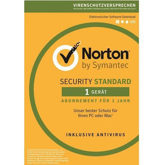Norton Security Standard 3.0 *1-Gerät / 1-Jahr* ESD Lizenz Download