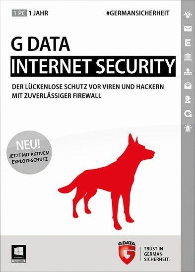 G DATA InternetSecurity Upgrade, 1 User, 1 Jahr, KEY