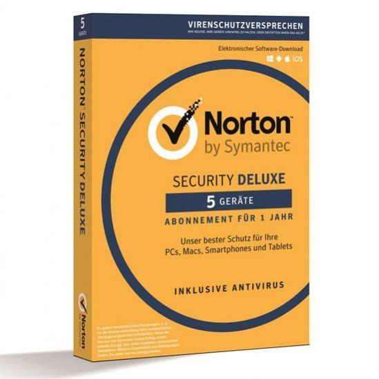 Norton Security Deluxe 3.0 *5-Geräte / 1-Jahr* BOX (Card Case)