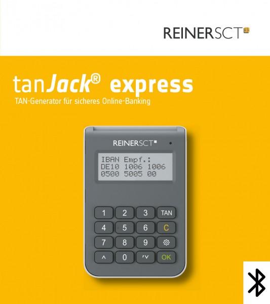 ReinerSCT tanJack express Bluetooth TAN-Generator sm@rt-TAN/chipTAN, Android/iOS