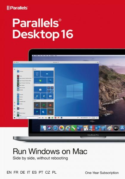 EDUCATION Parallels Desktop 16 Standard für MAC 1-Jahr Schulversion/Academic, ESD Lizenz, Download,