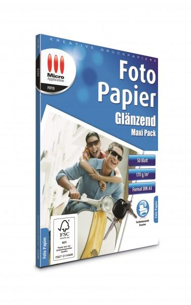 AvanQuest A4 Foto Papier Glänzend