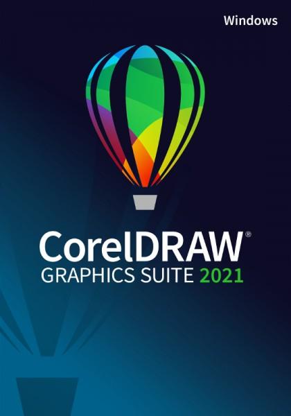 Corel DRAW Graphics Suite 2021, Windows10, Deutsch, Download
