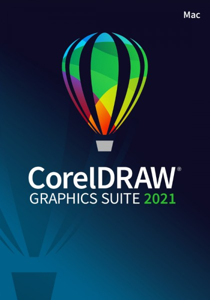 Corel DRAW Graphics Suite 2021, Mac, Deutsch, Download