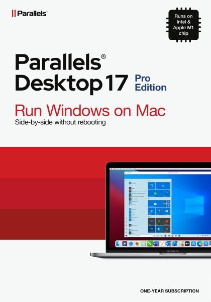 Parallels Desktop 17 PRO für MAC 1-Jahr ESD Lizenz Download #KEY