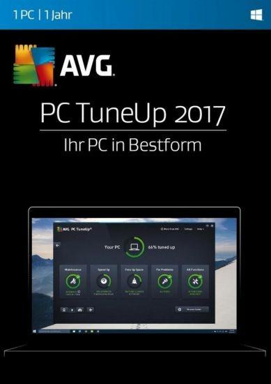 AVG TuneUp Utilities, 1 User, 1 Jahr, 2017, KEY