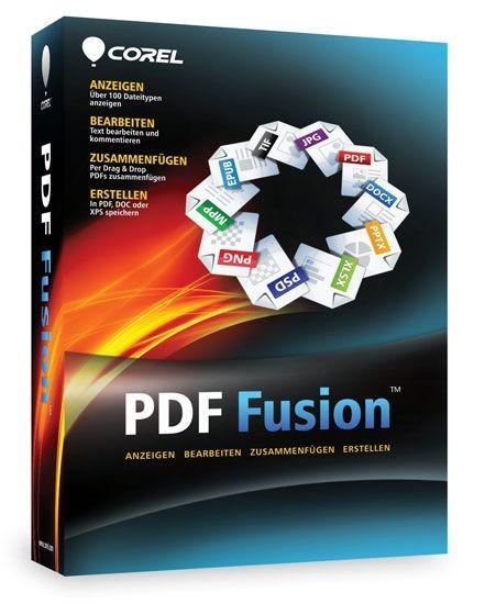 Corel PDF Fusion, CD + KEY