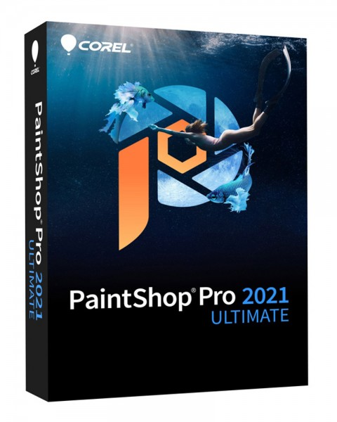Corel PaintShop PRO 2021 *ULTIMATE* Deutsch/Multi, #BOX