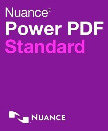 NUANCE Power PDF Standard 2.0 für WINDOWS (PDF Converter für Mac 5.0) PKC