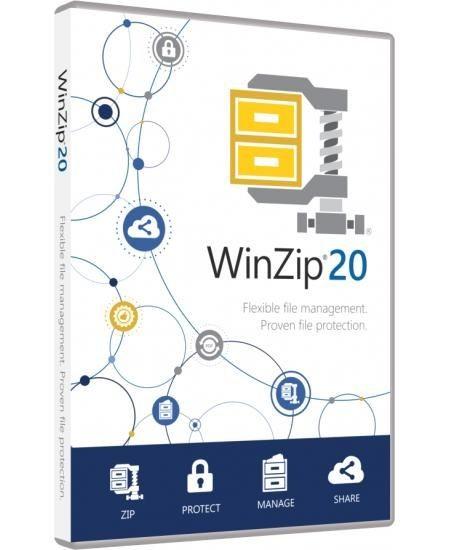 WinZip 21 Standard, ESD Lizenz Download Win Deutsch