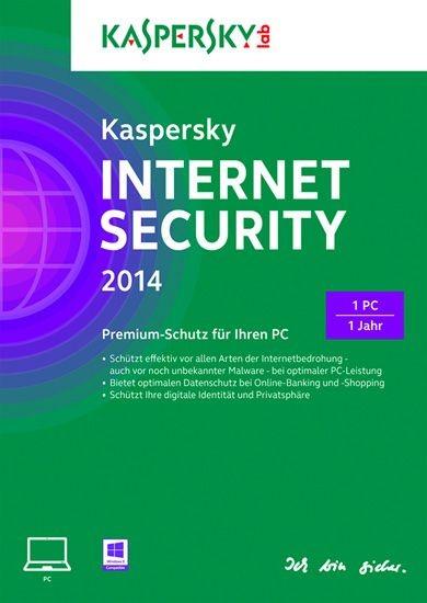 Kaspersky Internet Security 2014, 1 User, 1 Jahr, KEY