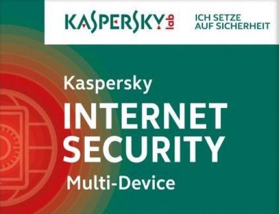 Kaspersky Internet Security, Upgrade, 5 Geräte PC/Mac/Android, 1 Jahr, 2017, ESD