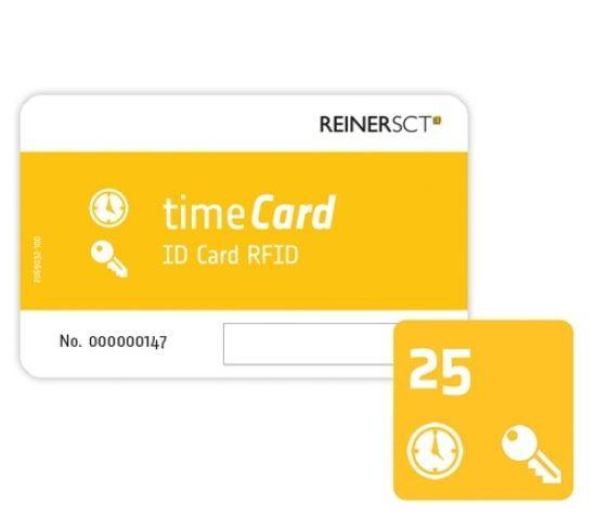 REINERSCT timeCard RFID Chipkarten 25 Stk. (DES)