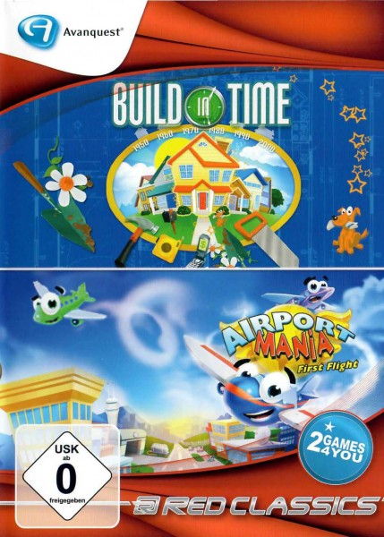 Red Classics - Build in Time & Airport Mania (PC)