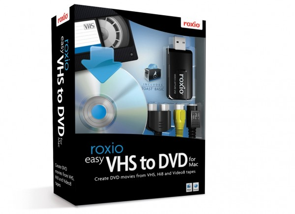 Roxio Easy VHS to DVD for MAC *English-Only* #BOX