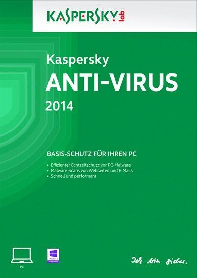 Kaspersky Antivirus, 3 User, 1 Jahr, KEY